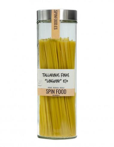 "Tallarinas-Finas-""Linguini""-Ecológicas-500g-SpinFood"