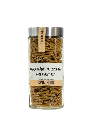 Macarrones-Con-Huevo-De-Espelta-Ecológicos-500g-SpinFood