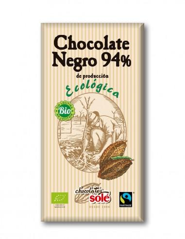 chocolate-negro-ecologico-94%-cacao-tableta-100-g-sole