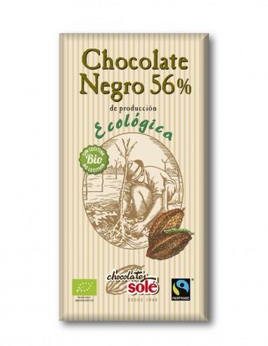 chocolate-negro-ecologico-56%-cacao-tableta-100-g-sole