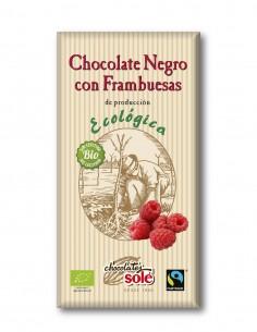 chocolate-negro-con-frambuesas-ecologico-56%-cacao-tableta-100-g-sole